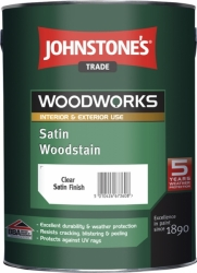JOHNSTONE'S Satin Woodstain – 5 l